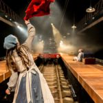 The Railway Children by Kenny,             , Written by - Mike Kenny, Director - Damian Cruden, Designer - Joanna Scotcher, Lighting - Richard G Jones, King's Cross, London, Uk, 2014, Credit: Johan Persson/